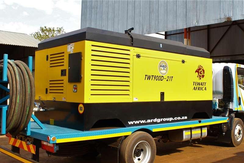TEWATT TWT900D21T SKID MOUNTED HIGH PRESSURE COMPRESSOR Compressors