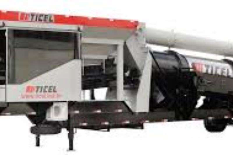 Ticel Asphalt plants - mobile TICEL Hyper mobile asphalt plants 2019
