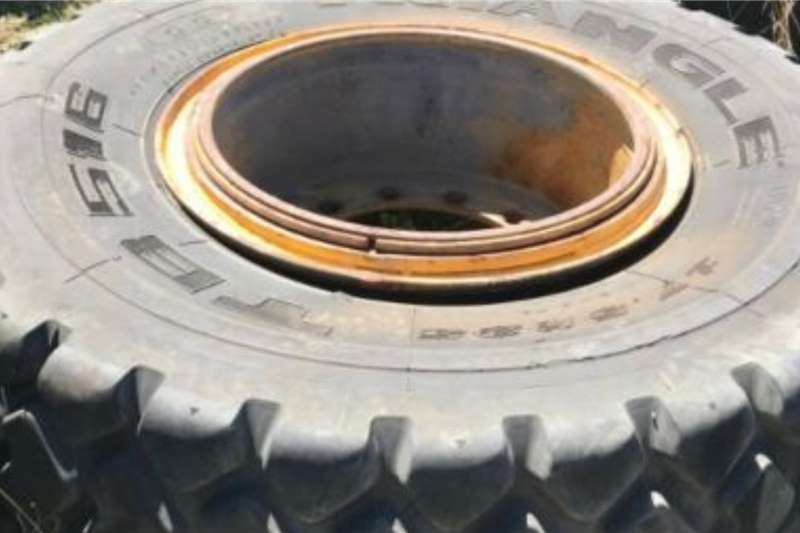 TLBs Earthmoving Used Tyres