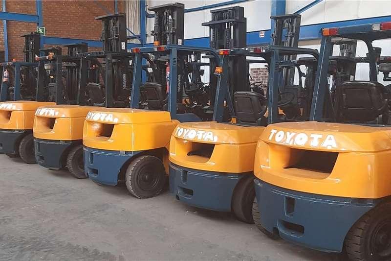 Toyota Diesel forklift TOYOTA 7 SERIES Forklifts