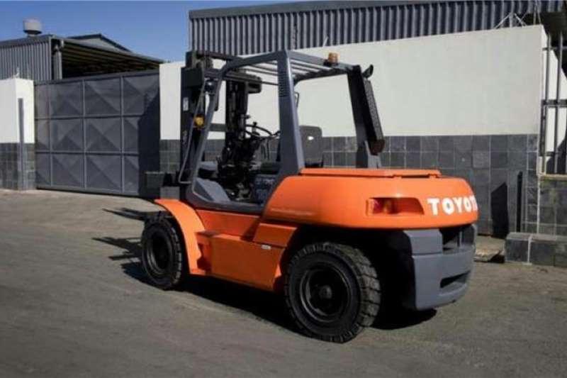 Toyota Diesel forklift Toyota 7TON Diesel Forklifts