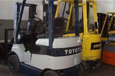 Toyota Electric forklift Toyota 7 SERIES Electric, 1.5 Ton Forklifts