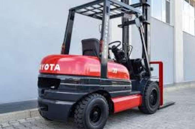 Toyota Petrol forklift 3Ton 6FG30 Forklift Forklifts