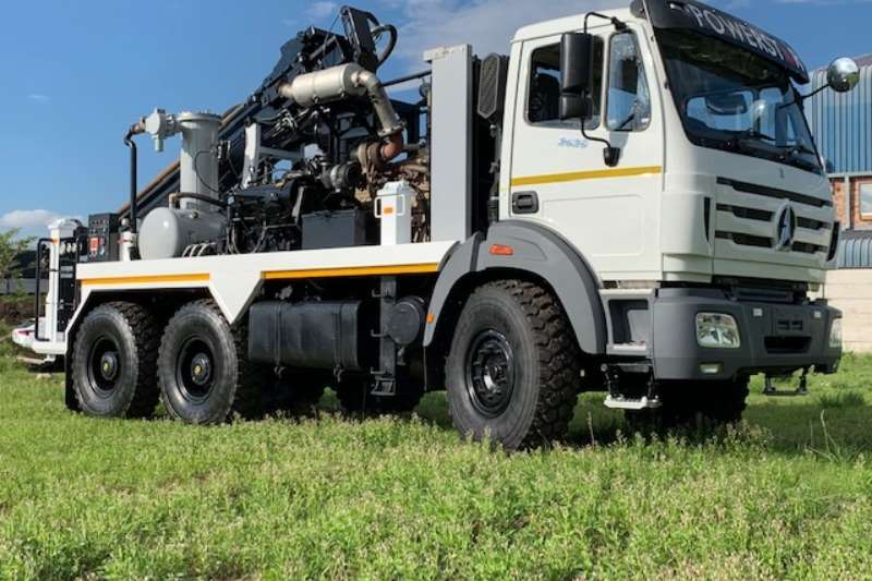 Vertex Drill rigs Truck Mounted Water Drilling Machines