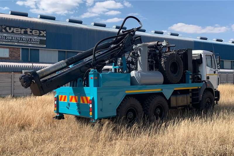 Vertex VX   Vertex Pole Rock Drilling Machines Drill rigs