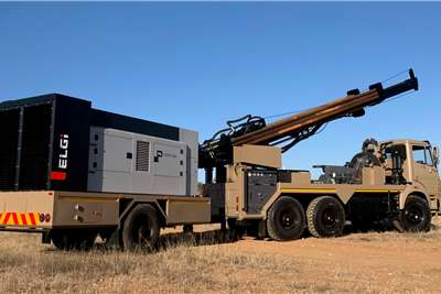 Vertex VX  Vertex WATER DRILLING MACHINE Powerstar Truck Drill rigs
