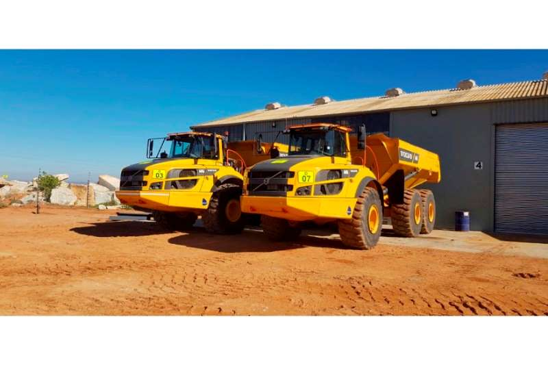 Volvo Dumpers A40G 2018