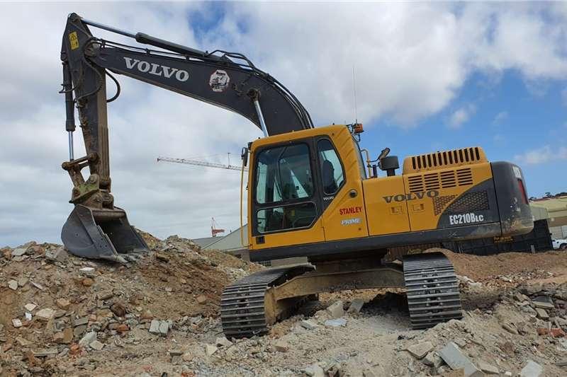 Volvo Excavators EC210B 2016