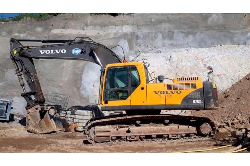 Volvo Excavators EC290BLC 2012