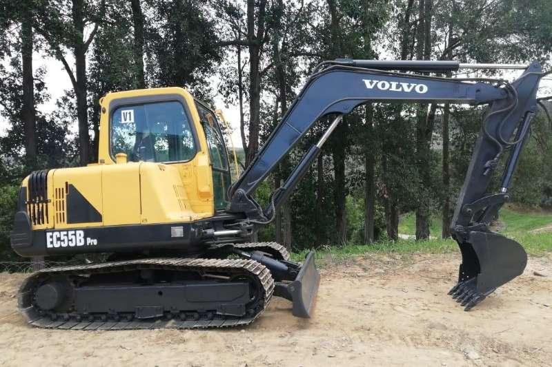 Volvo Excavators EC55B 2013