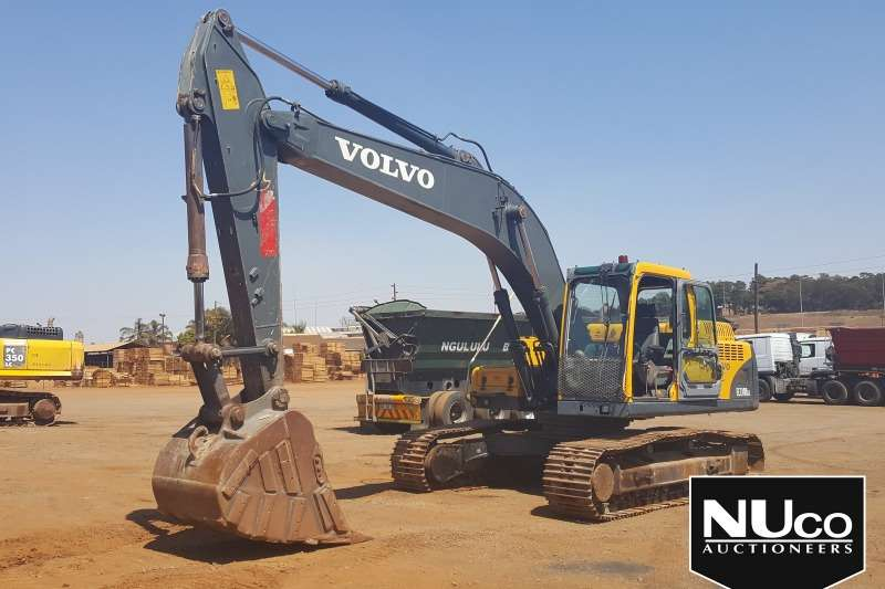 Volvo Excavators VOLVO EC210BLC EXCAVATOR