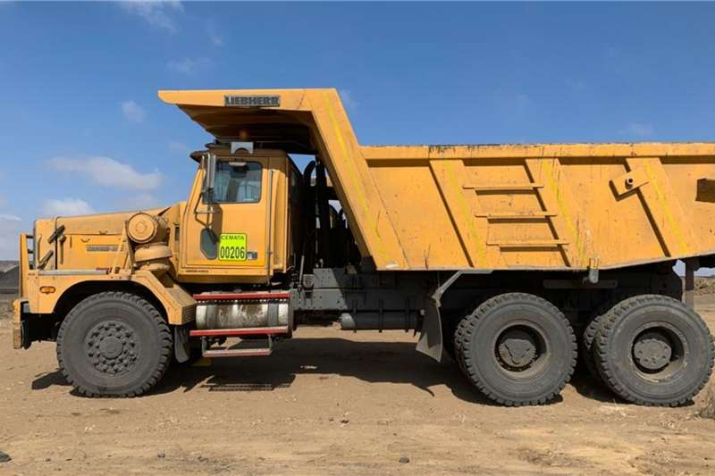 WAHA Dump truck 40tons 2013