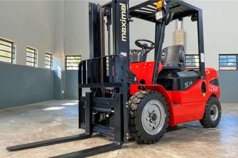 WAHA Forklifts Diesel forklift 3 Ton / 2 Stage Forklift 2019