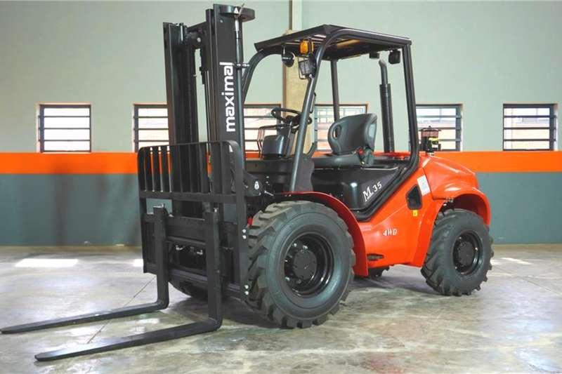 WAHA Forklifts Diesel forklift Maximal 3.5 Ton 2WD Diesel ForkliftFD35T
