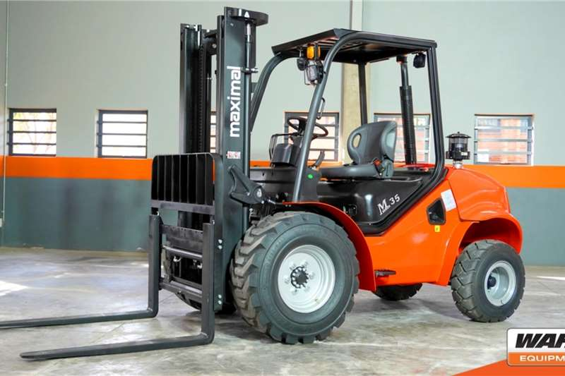 WAHA Forklifts Diesel forklift Maximal 3.5 Ton 4WD Diesel ForkliftFD35T 2020