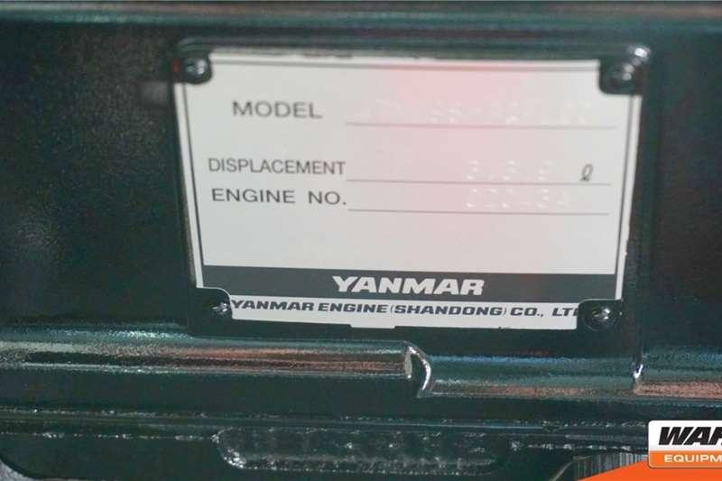 WAHA Diesel forklift Maximal 3.5 Ton 4WD Diesel ForkliftFD35T Forklifts