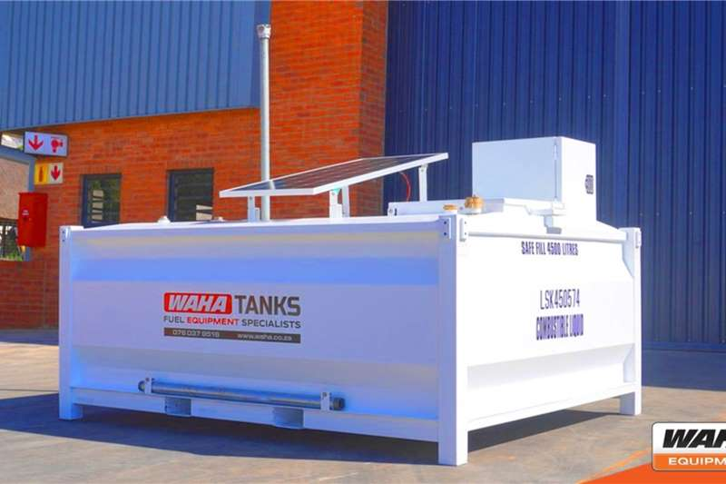 WAHA Fuel tankers 4,500 Litre Self Bunded 2020