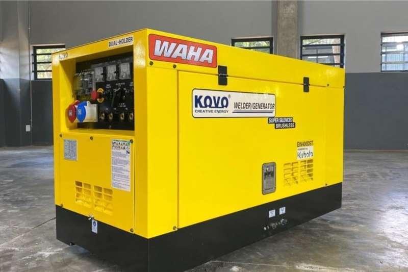WAHA Others Enclosed 400A Welder / 15kVA Generator