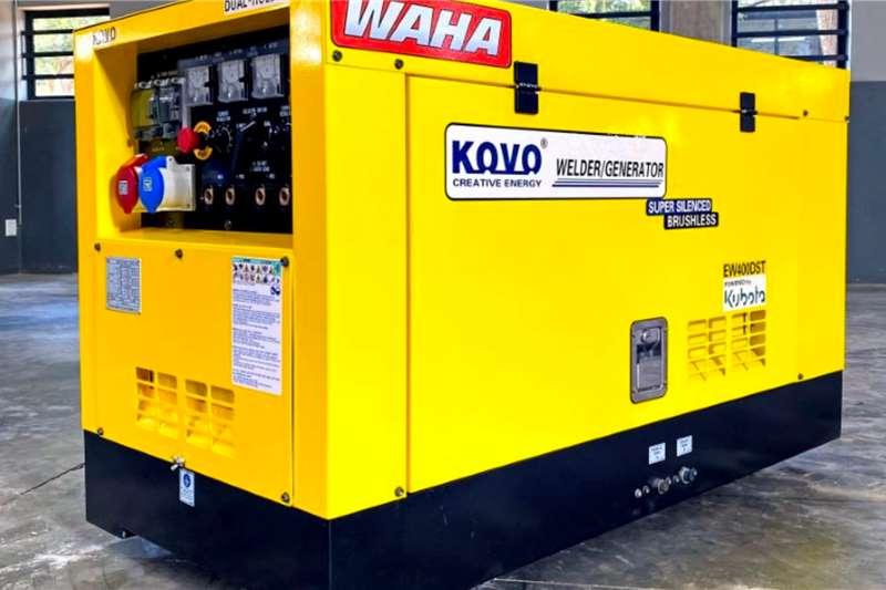 WAHA Welding Machines 400A Welder /15kVA Generator