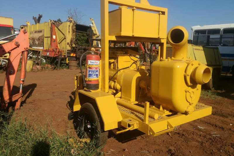 Varisco 4 Inch with 4 Cyl Hatz Engine Mobile Water pumps