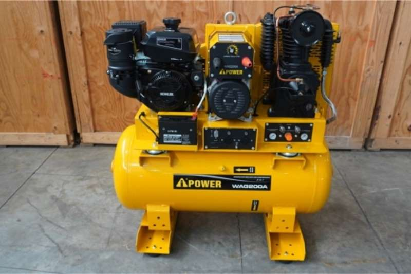 Welding Machines I-POwer WAG200A 3 in 1 Generator/Welder/Comressor
