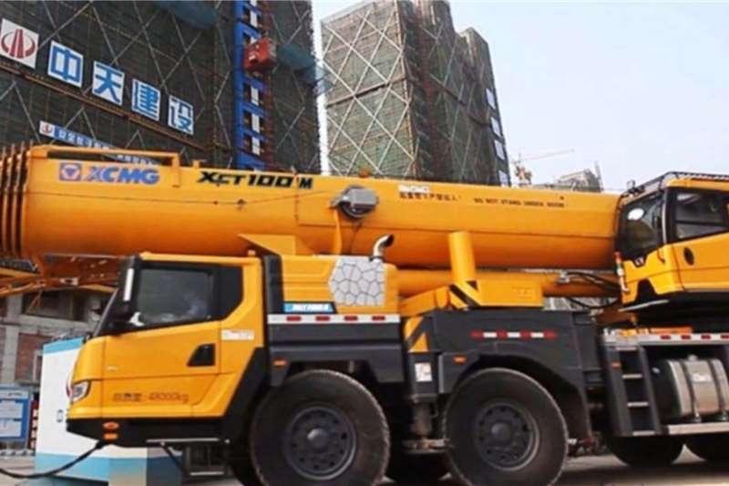 XCMG Truck mounted XCT100M Cranes