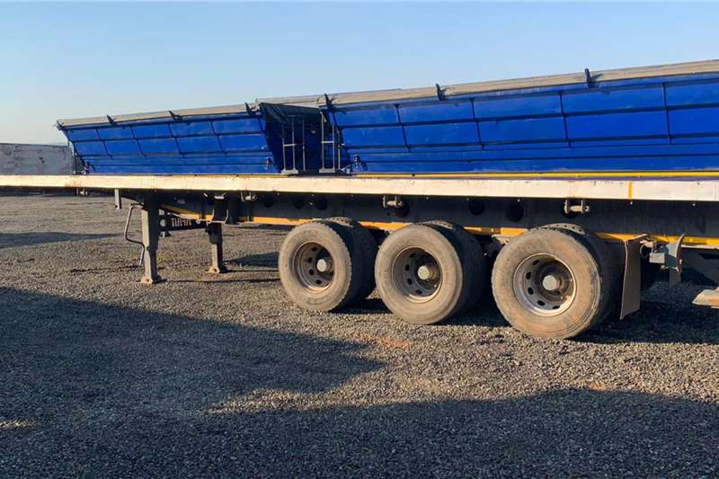 Afrit 2007 Afrit 12m Tri Axle Trailer Trailers