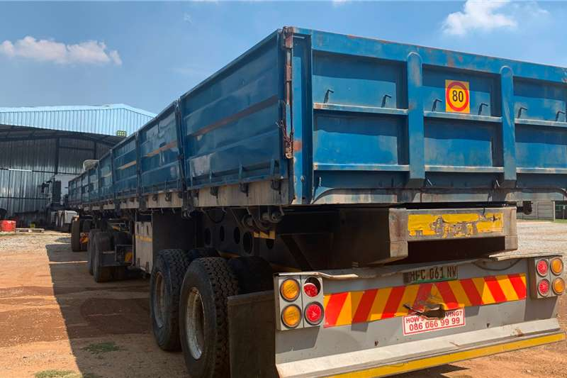 Afrit Trailers 2008 AFRIT DROP SIDE TIPPER LINK 2008