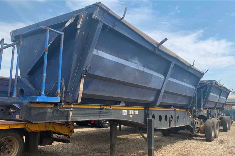 Afrit Trailers 2008 AFRIT SIDE TIPPER  INTERLINK 2008