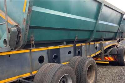 Afrit 2010 Afrit Interlink 45m3 Side Tipper Trailers