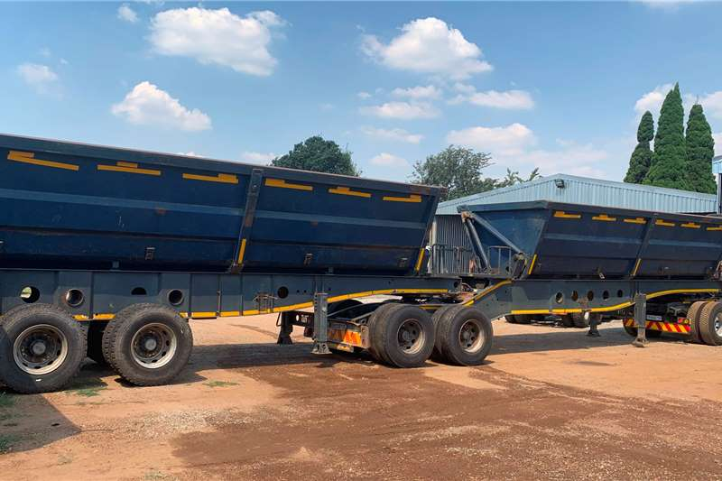 Afrit Trailers 2011 AFRIT LINK SIDE TIPPER 2011