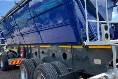 Afrit 2013 Afrit 45m3 Interlink Side Tipper Trailers