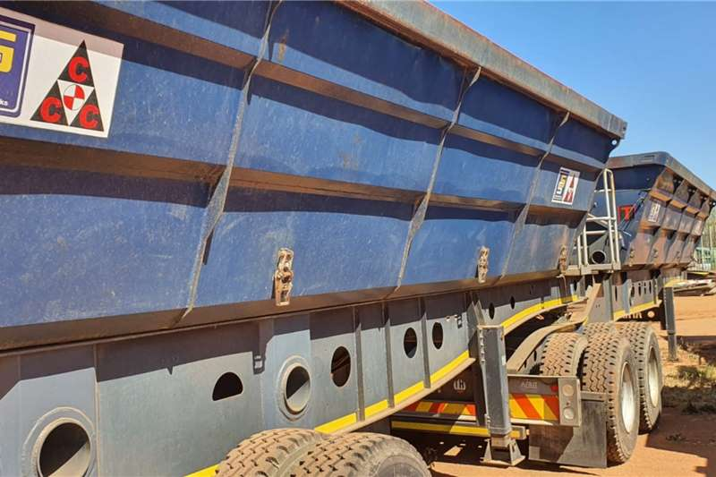 Afrit 2014 AFRIT LINK SIDE TIPPER Trailers