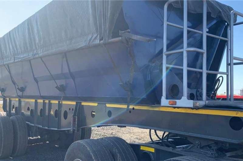 Afrit 2017 Afrit 45m3 Interlink Side Tipper Trailers