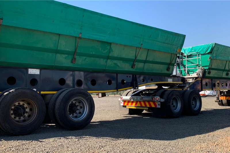 Afrit 2018 Afrit 45m3 Interlink Side Tipper Trailers
