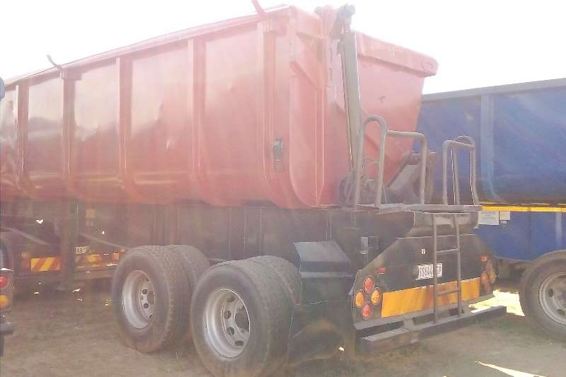 Afrit Trailers 34 TON SIDE TIPPER TRAILERS 2007