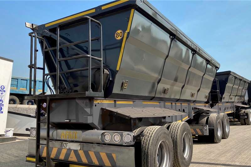 Afrit AFRIT 45 CUBE SIDETIPPER INTERLINK Trailers