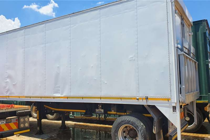 Afrit Trailers Box body AFRIT BOX TRAILER WITH RATCLIFF 2014