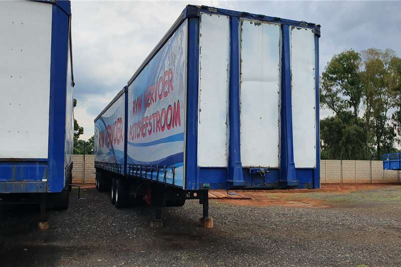 Afrit Curtain side 6x12m super link trailers Trailers