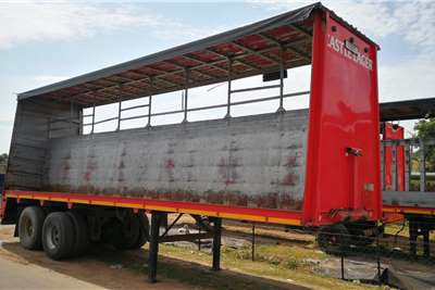 Afrit Curtain side 9.6m Trailers