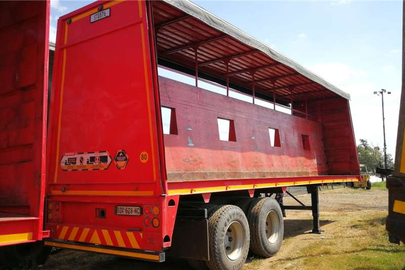 Afrit Curtain side 9.6m Double Axle Trailers