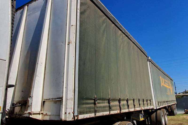 Afrit Trailers Curtain side AFRIT INTERLINK CURTAIN SIDE TRAILER 2005