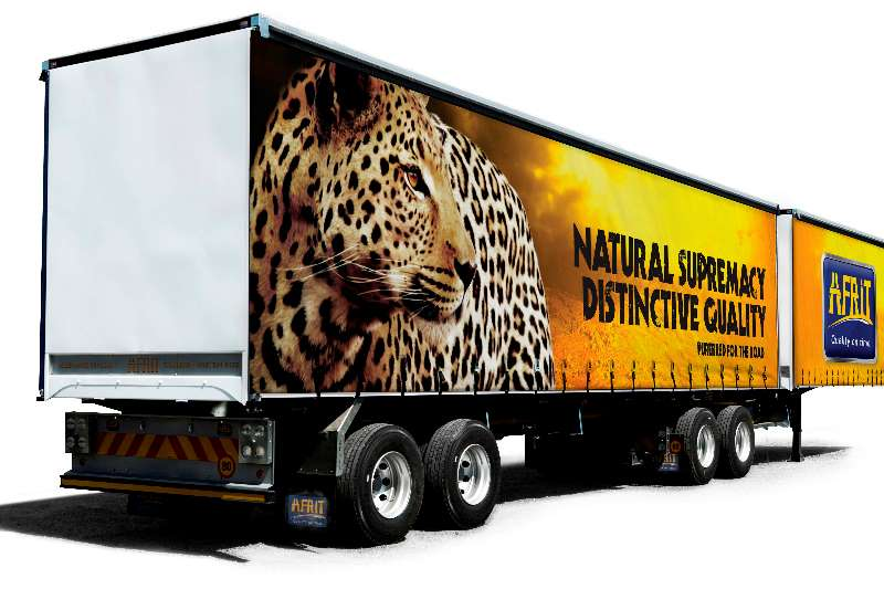 Afrit Trailers Curtain side For Rent