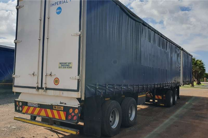 Afrit Trailers Curtain side Super Link 6 x 12 2006