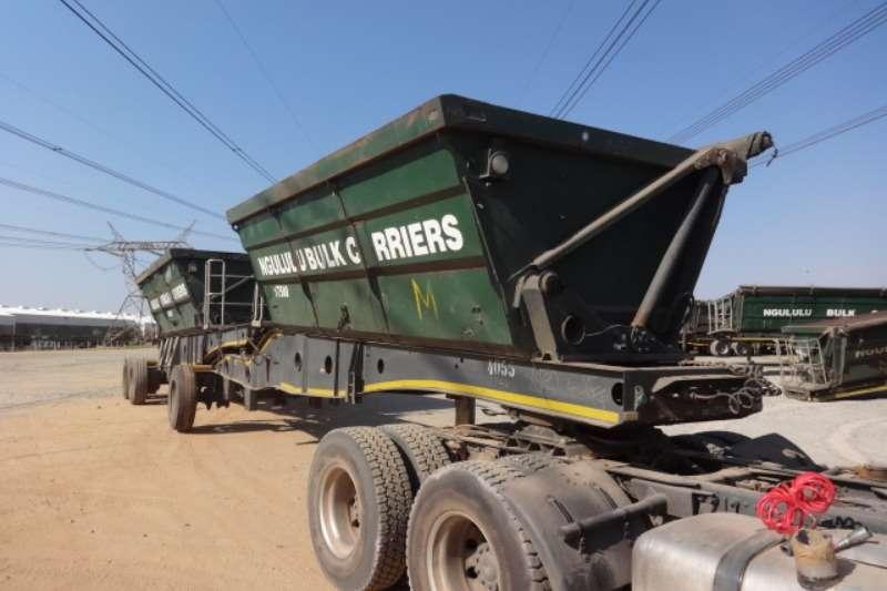 Afrit Trailers Double Axle Side Tipper Trailer 2014