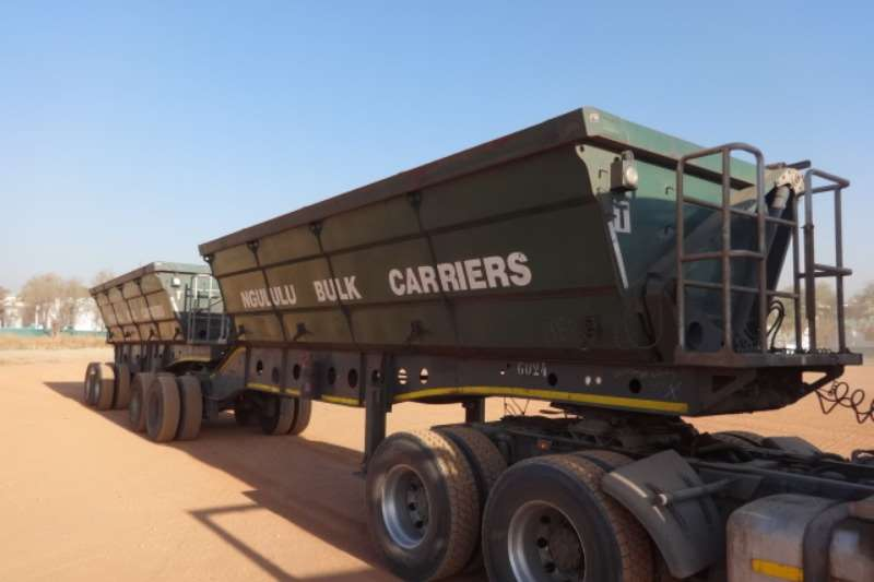 Afrit Trailers Double Axle Side Tipper Trailer 2015