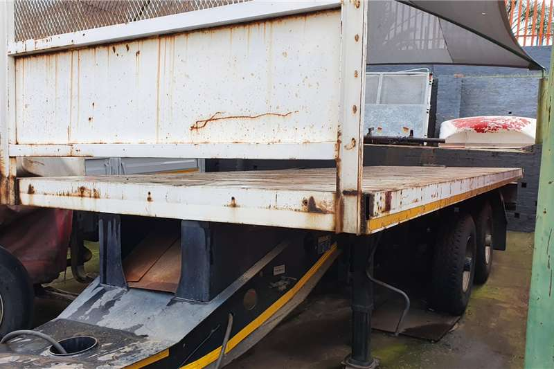 Afrit Trailers Drawbar 8M FLAT DECK UNDERSLUNG TRAILER 2009