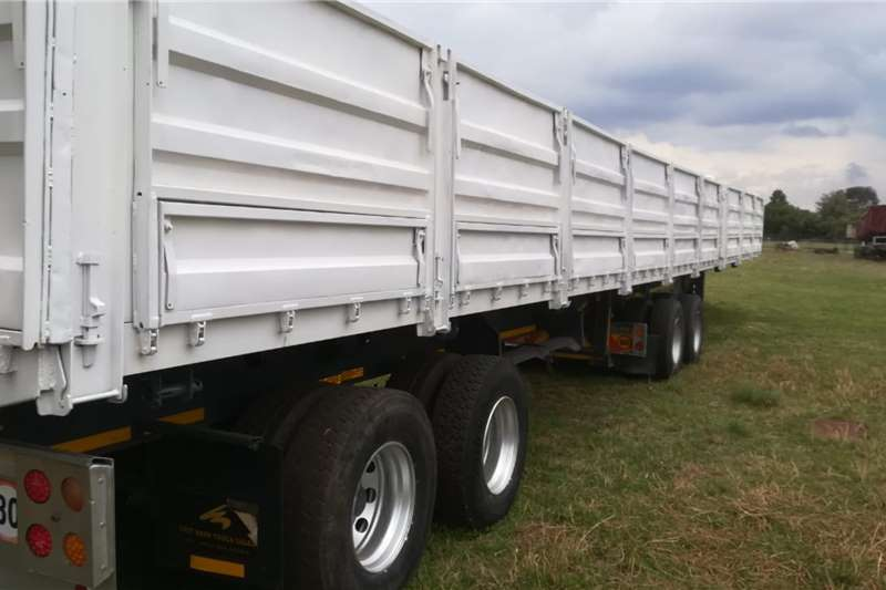 Afrit Dropside M/Suspension   Link   D/S 1.2m   View by appoint Trailers