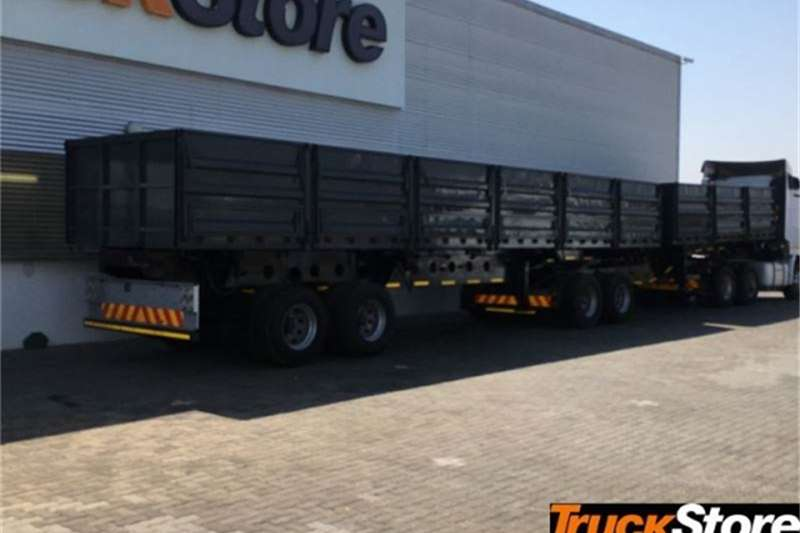 Afrit DROPSIDE TIPPE Trailers