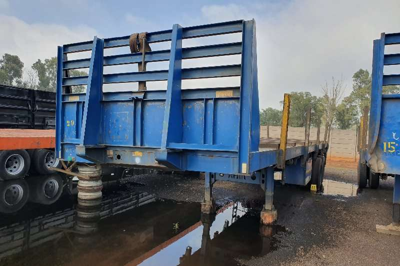 Afrit Trailers Flat deck 12m double axle 2006
